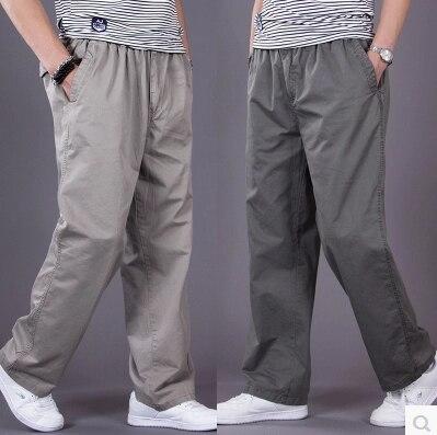 Бесплатная доставка военная плюс размер XXXL 4XL 5XL 6XL бренд летом случайные армейские брюки тонкий брюки прямые мужская одежда 11 цвета