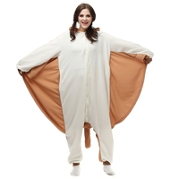 2018 Women Onesies Animal Kigurumi Flier Mouse Cosplay Hooded Sleepwear Winter Unisex Pajamas Halloween Costumes