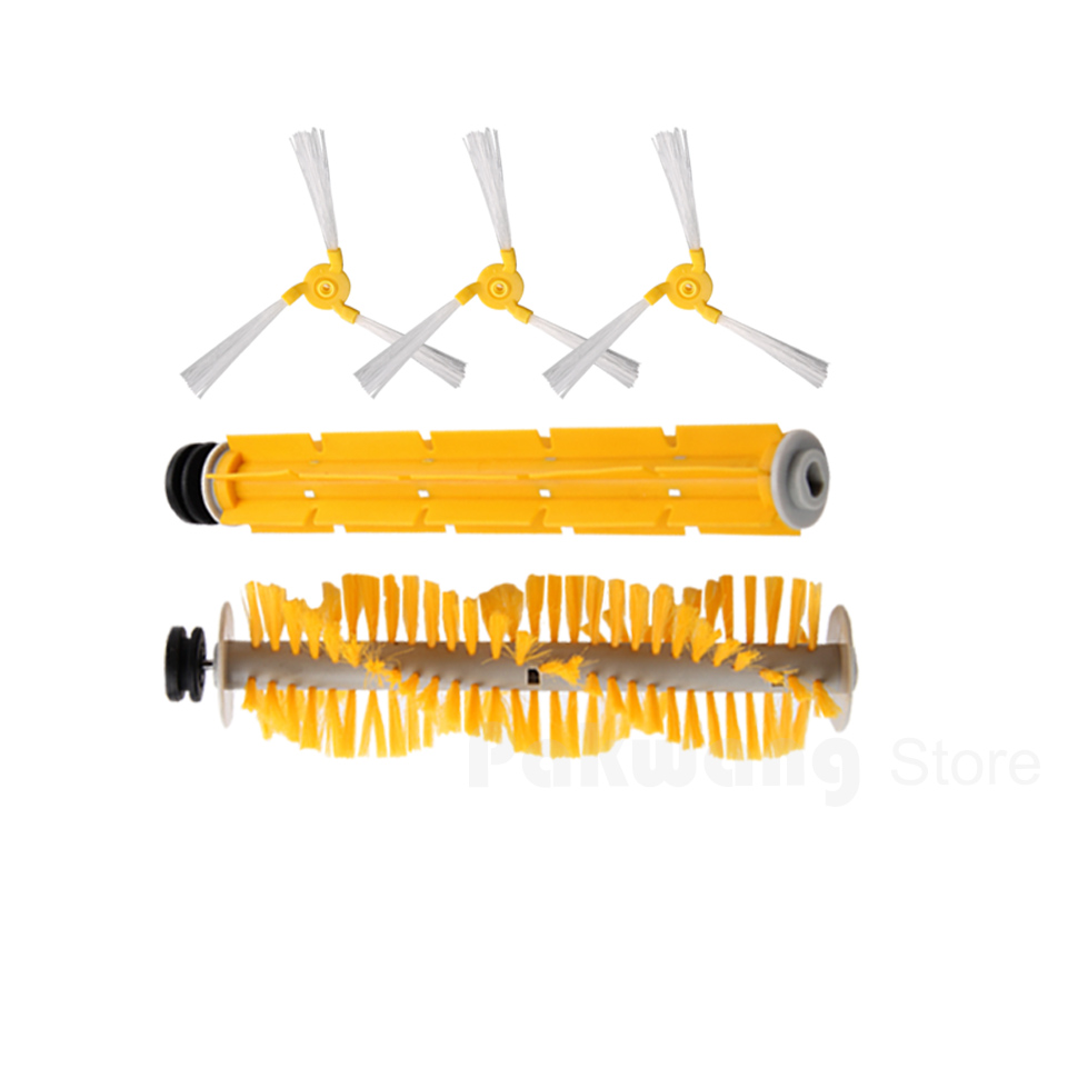 Original A325 Robot Vacuum Cleaner Side brush*3,  Rubber brush*1 and Hair brush*1 optimal and efficient motion planning of redundant robot manipulators
