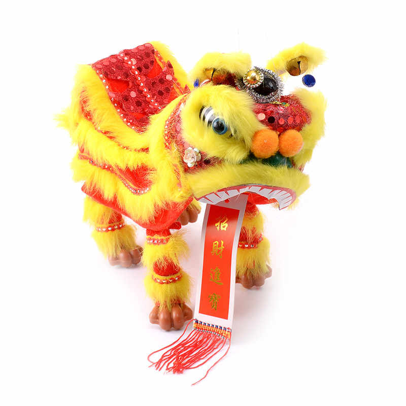 d17d2dc19 ... Model Plush Toys Marionette Lion Dance Chinese Traditional Custom  Performance Projects Creative Novelty for Parents and