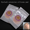 Free shipping 5 pcs/lot soft not easily deformed eyelash extension silicone pad easy pick up eyelash extension tools