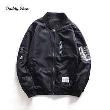 Casual Jacket Men Army Tactical Baseball Jacket Bomber Jackets And Coats For Men Male Hip Hop Style Chaqueta smiley face Coat