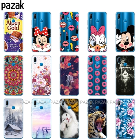 Silicone phone Case For huawei P20 LITE cases covers for huawei p20 pro phone back cover for huaweiP 20 Lit Coque etui clear Lahore