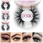 New Styles 3D Mink False Eyelashes Top Quality Custom Lashes Packaging Mink Lashes