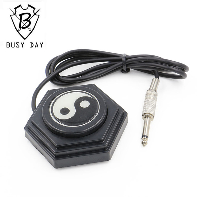 Direct Selling Limited Tattoo Power Ying Yang Tattoo Foot Pedal Switch For Power Supply