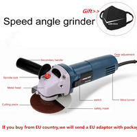 Variable Speed Angle Grinder for Grinding Cutting Metal Electric 11000 RPM For High Speed Material Removal