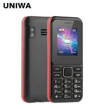 UNIWA V709 Feature Mobile Phone GSM Strong Senior Function Old Man Cellphone Dua