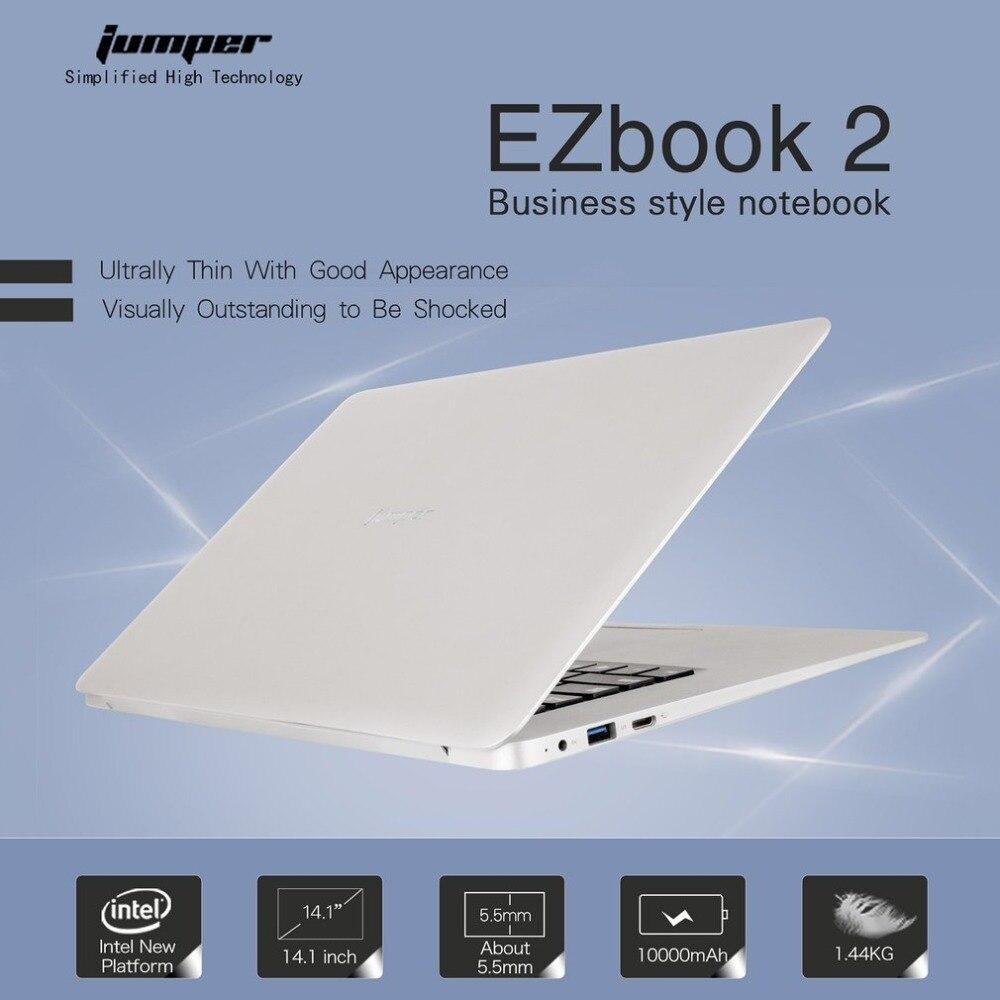 14.1 pouce EZbook 2 Ultra Mince Portable Léger 1920x1080 FHD Intel Cerise Sentier Quad Core 4 gb + 64 gb Ordinateur portable UE Charge