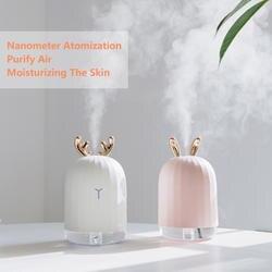Высокое качество 220 мл ультразвуковой увлажнитель воздуха аромат эфирные масла диффузор для дома автомобиля USB Fogger тумана со светодиодный