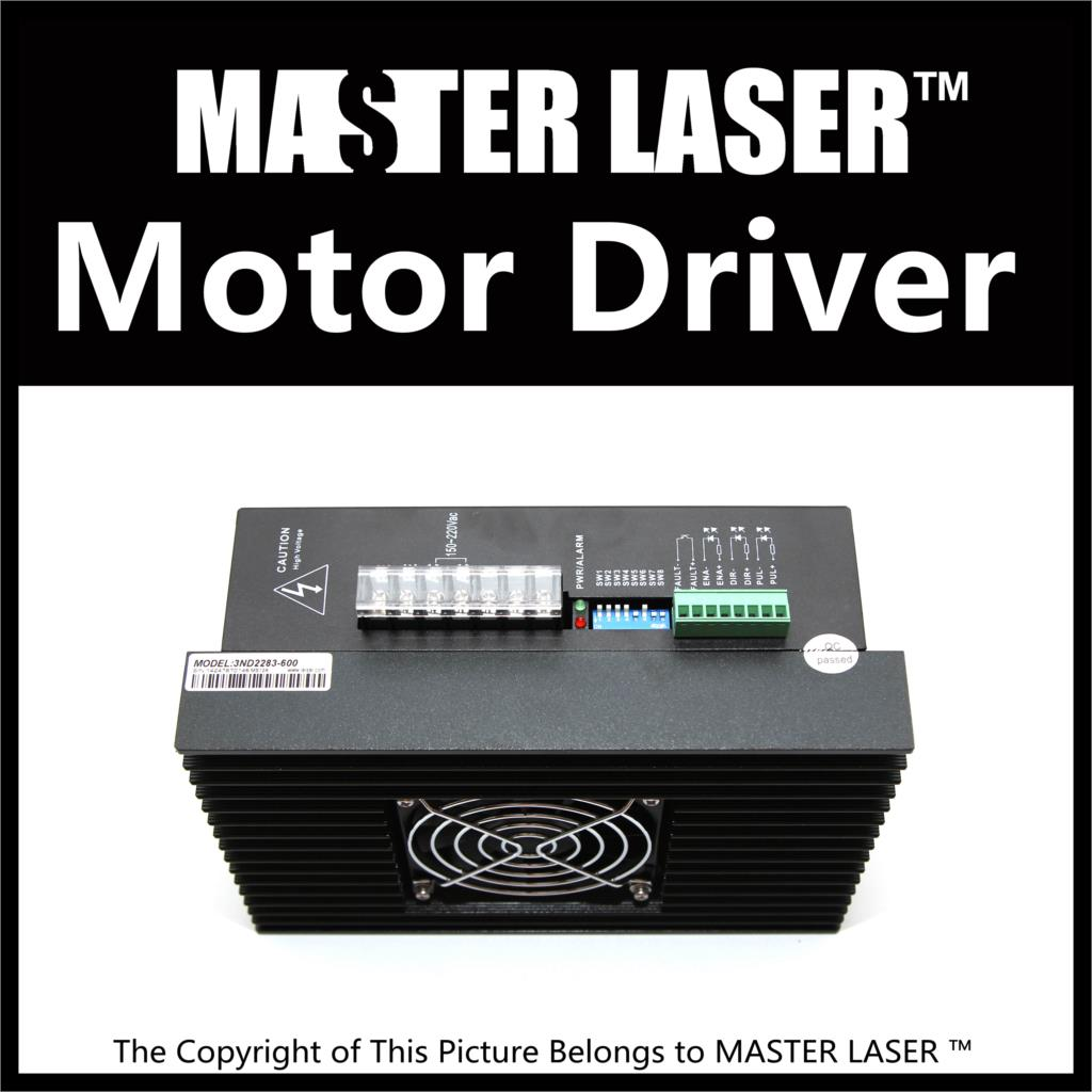 CO2 Laser Cutting Machine Step Motor Motion Control 3ND583 3 Phase Analog Step Drive Motion Control