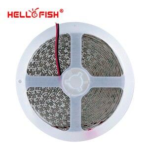 Image 3 - Fita de led dc 12v, 5054 5050 5m 600 led 12v flexível 120 led/m iluminação branca luz branca quente rgb