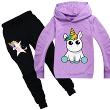 New Children Clothing Set Baby's Sets 100%cotton Kids Hoodies Boy Outfit Sports Suit 3-14T Boys Girls Suits Cotton Child Clothes autumn winter boys clothing set 2017 new cute pullover sweatshirt pant kids suits cotton casual toddler boy clothes outfit suit