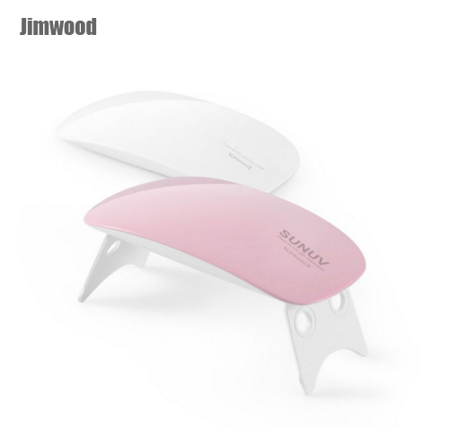 SUNUV Sunmini 6 W Mini Portable Nail art Lampe dryer Blanc USB LED UV Cure Lampe UV LED Gel Vernis Nail Gel Polish Machine longevita uv cure eco