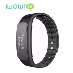 IWOWN I6 HR Smart Wristband Push Message Waterproof Smart Band Fitness Tracker For Android IOS Phone PK Iwown I6 Pro I3 HR