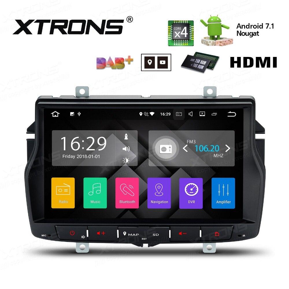 Xtrons Russian Menu  1 Radio Gps Navigation Hdmi Car Dvd Player Stereo Wifi Dabfor Lada Vesta  2018 In Car Multimedia Player From