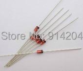 20 pcs 1N4733A 1N4733 Zener Diode 5.1V 1W 1 w zener diode 1 n4732 4 glass v7 4 7 v