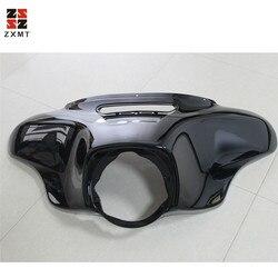 ZXMT Motorfiets Hoofd licht Masker Koplamp Kuip Frontkuip Vork Mount Voor Harley Harley Touring Glide Ultra Limited 2014- 2018