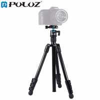 PULUZ Photography Tripod holder 4 Section Folding Legs Tripod Monopod Mount with 360' Ball Head For DSLR & Digital Cameras