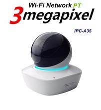 DaHua 3MP Wi-Fi Network PT Camera IPC-A35 Built-in Mic & Speaker, Micro SD card slot Baby Monitor High Definition ( 2304*1296 )