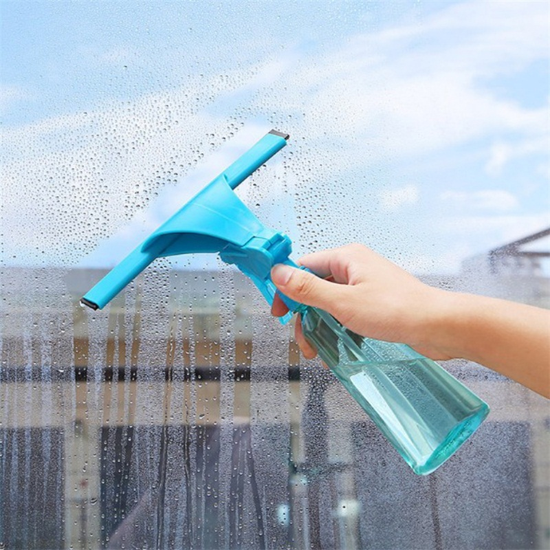 Magic Spray Type Cleaning Brush Washing Car Window Brushes Multifunctional Convenient Glass Cleaner Cleaning Tool With Bottles