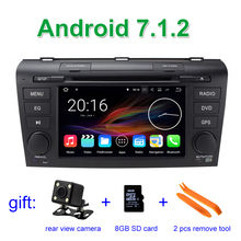 Android 7.1.2 Car DVD Player for Mazda 3 Mazda3 2004 – 2009 with BT Wifi Radio GPS 2 GB RAM