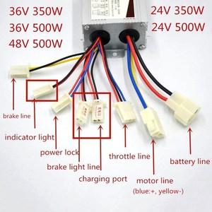 Image 4 - 24 v 36 v 350 ワット電動自転車自転車モーター変換キット電動ディレイラーエンジンセット可変倍速自転車