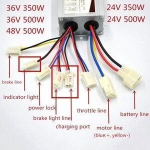 Image 4 - 24V 36V 350W חשמלי אופני אופניים מנוע המרת ערכת חשמלי הילוכים מנוע סט עבור משתנה מרובה מהירות אופניים