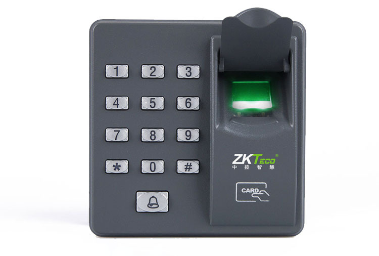 FGHGF Fingerprint Password Key Lock Access Control RFID Reader Scanner System Recognition Machine Biometric Electronic Door Lock