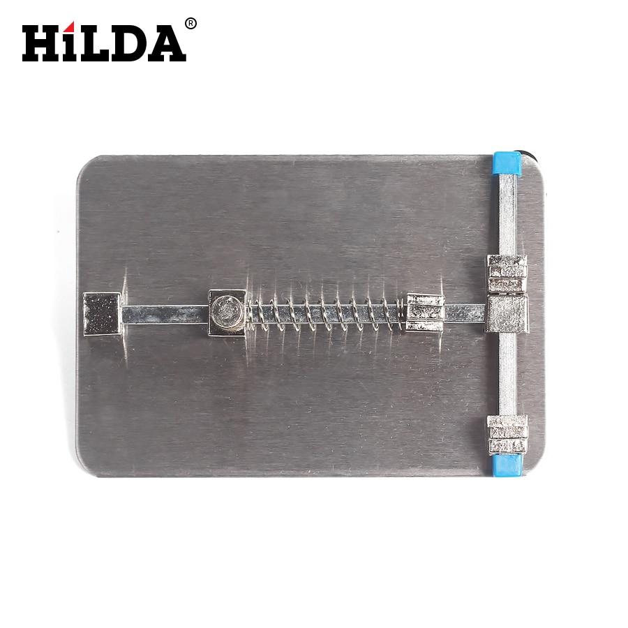 HILDA PCB Holder Jig For Cell Phone Circuit Board Repair Universal Rework Station SMD Soldering Platform big togo main circuit board motherboard pcb repair parts for nikon d3400 slr