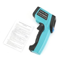 ZOTEK GM550 Four Button Handheld Non-contact Digital infrared Thermometer Laser Temperature Gun LCD Backlight J15C17