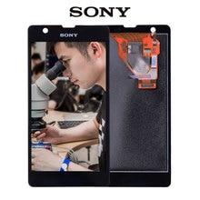 Original Para SONY Xperia ZR con Pantalla Táctil LCD de Repuesto Asamblea Del Digitizador Para SONY Xperia ZR M36h C5502 C5503