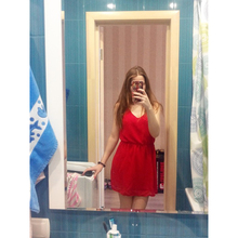 Mini Vestidos de Gasa sin Mangas de Cami