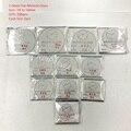 Commercio all'ingrosso 106 pz 2.0 MM Piatto di Spessore Orologio Vetro Minerale Selezionare Il Formato da 24mm a 50mm per Orologiai e Riparazione