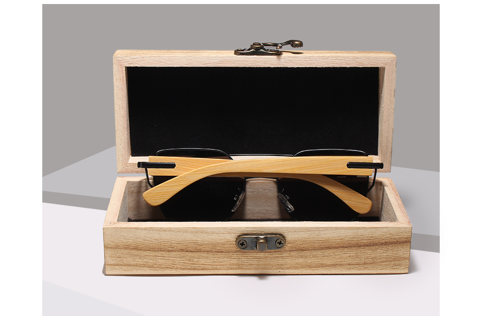 Wooden Cat Eye Sunglasses Y5585