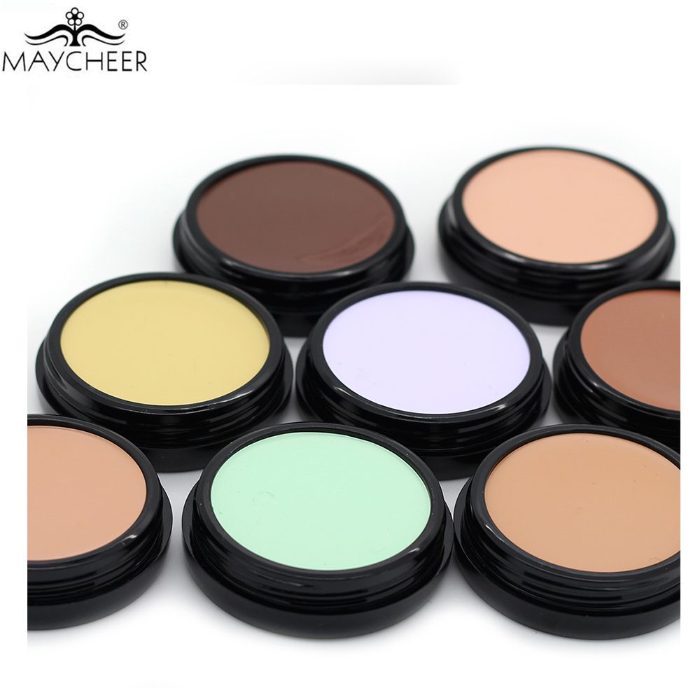 Professional Makeup Base Concealer Foundation Cream Soft Texture Cover Pore Redness Camouflage