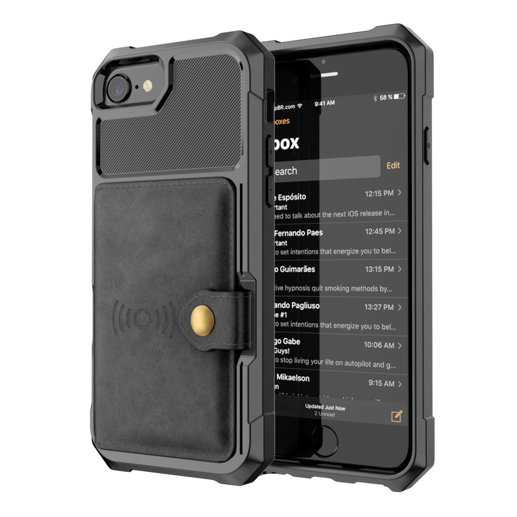 Luxury PU Leather Wallet Case for iPhone 6 6s 7 8 Plus X XS XR XX MAX Cases Wallet Flip Cover Buckle for iPhone Phone XR Fundas