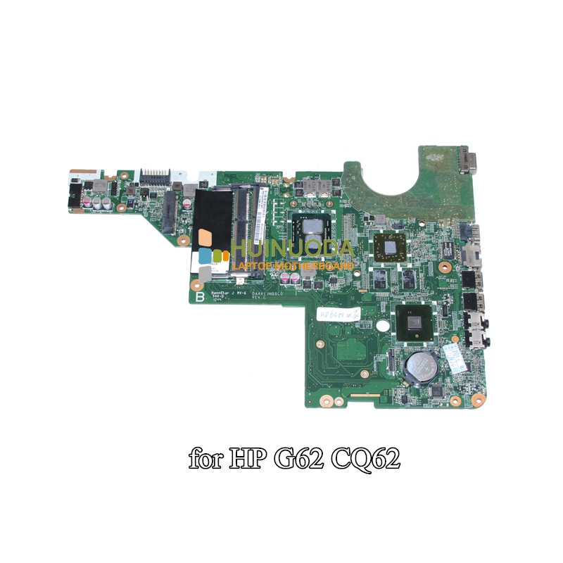 DAAX1JMB8C0 637584-001 mainboard For HP Pavilion G62 CQ62 Laptop Motherboard i3-370M CPU HM55 HD6370M 512MB DDR3