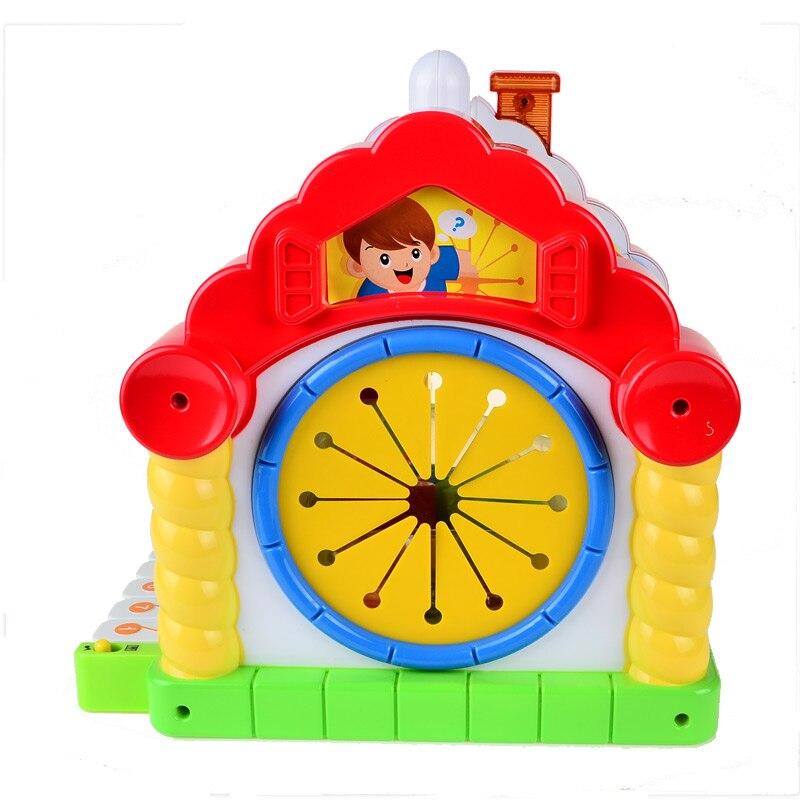 BOHS maison d'amusement polyvalente-électronique et Musical-tri de formes géométriques et apprentissage des mathématiques-jouets éducatifs pour tout-petits - 3
