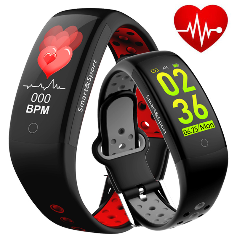 Fitness Bracelet Smart Watch Men Women Pedometer Heart Rate Monitor Blood Pressure OLED Touch Run Sport Watch Smart Wrist Band 2018 m3 smart bracelet fitness women bracelet miband 3 large touch screen oled information heart rate time smart sport watch men