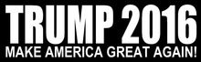 DONALD TRUMP 2016 MAKE AMERICA GREAT AGAIN Vinyl Decal Sticker Bumper Wall Car Laptop Sticker Trimp Win DT-2