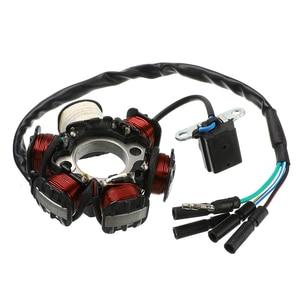 Image 3 - 1 zestaw w całości z kompletna elektryka kable w wiązce CDI stojana 6 cewki dla motocykli ATV Quad pitbike Buggy gokart 90cc 110cc 125cc