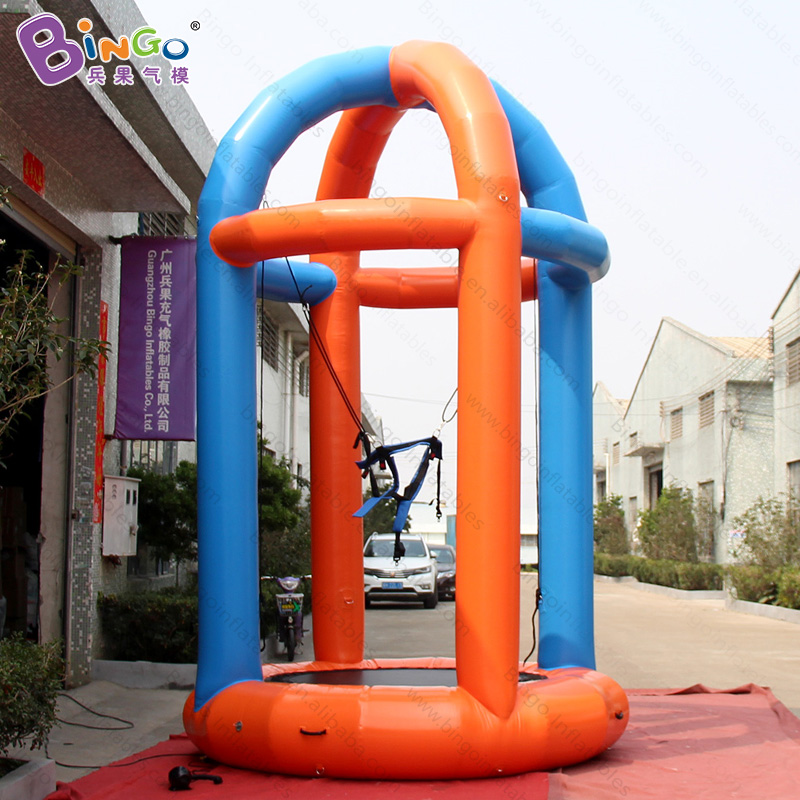 3X3X5 meters air sealed inflatable bungee run / inflatable bungee jump / bungee trampoline for sale toys motorcycle fairings for yamaha yzf600 yzf 600 r6 yzf r6 1998 1999 2000 2001 2002 abs injection molding fairing bodywork kit 115