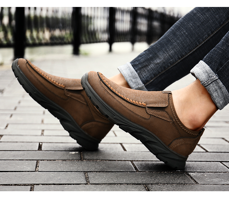 HTB1ZEoSaf1H3KVjSZFHq6zKppXaM Men Casual Shoes Loafers Sneakers 2019 New Fashion Handmade Retro Leisure Loafers Shoes Zapatos Casuales Hombres Men Shoes