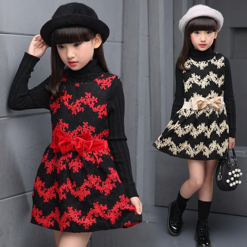 Зимняя одежда с платьем