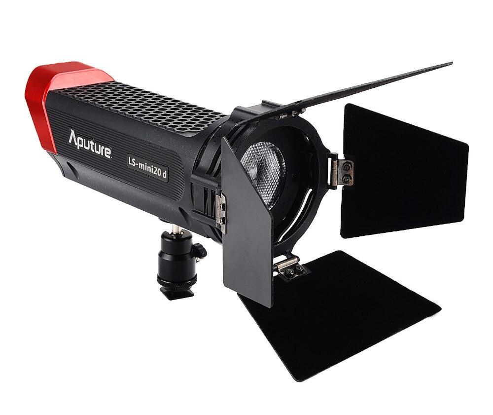 Aputure LS mini luz do estúdio fresnel TLCI 20d 97 + Temperatura de Cor 7500 K-300 K Portátil e Leve Ajustar O ângulo de