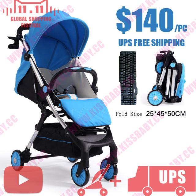Yoyo yoya poussette viagem ultra luz dobrável carrinho de bebê