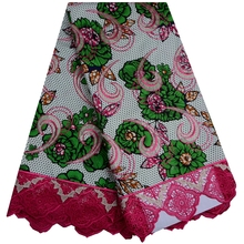 Guipure Super Quality Embroidered Wax Lace Fabric