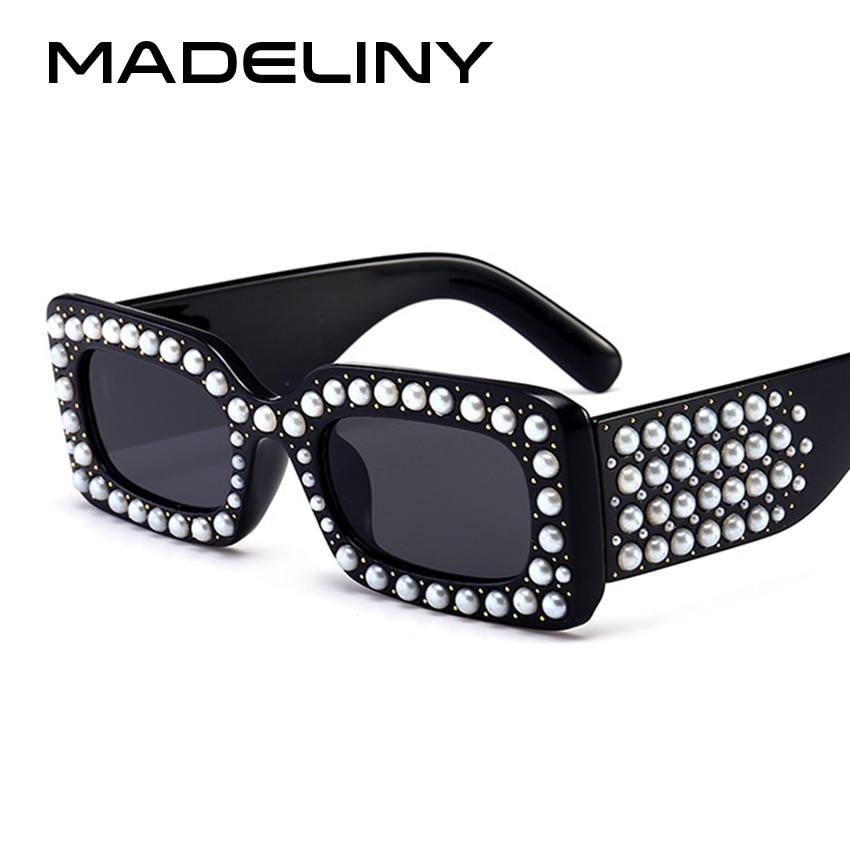 b659dbc36cc MADELINY 2018 Triangle Women Sunglasses Fashion Rhinestone Butterfly Sun  Glasses Luxury Brand Design Eyewear UV400 MA352