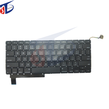 "10pcs/lot Laptop US Keyboard 2009-2012year For Apple Macbook Pro 15"" A1286 Keyboard US USA layout without backlight backlit"