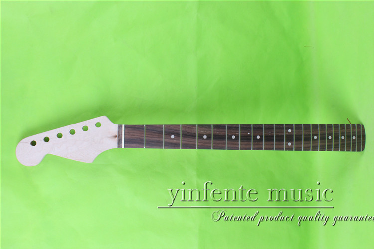 25.5  left   Electric guitar neck      mahogany made Bolt on     rose wood   fingerboard fine quality  22  fret  0033#